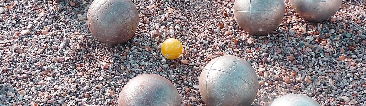 Boule de p tanque pour pointeur for Choisir des boules de petanque