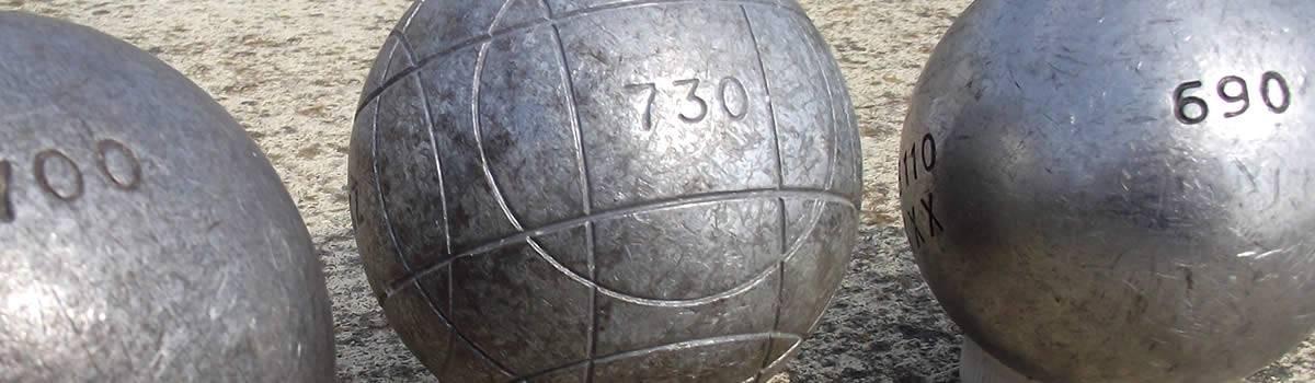 le poids d 39 une boule de p tanque