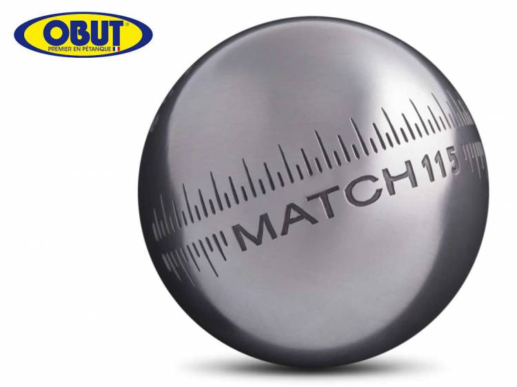 prix boules de p tanque obut match 115 it comp tition pour pointeur diam tre 72mm poids 700gr. Black Bedroom Furniture Sets. Home Design Ideas