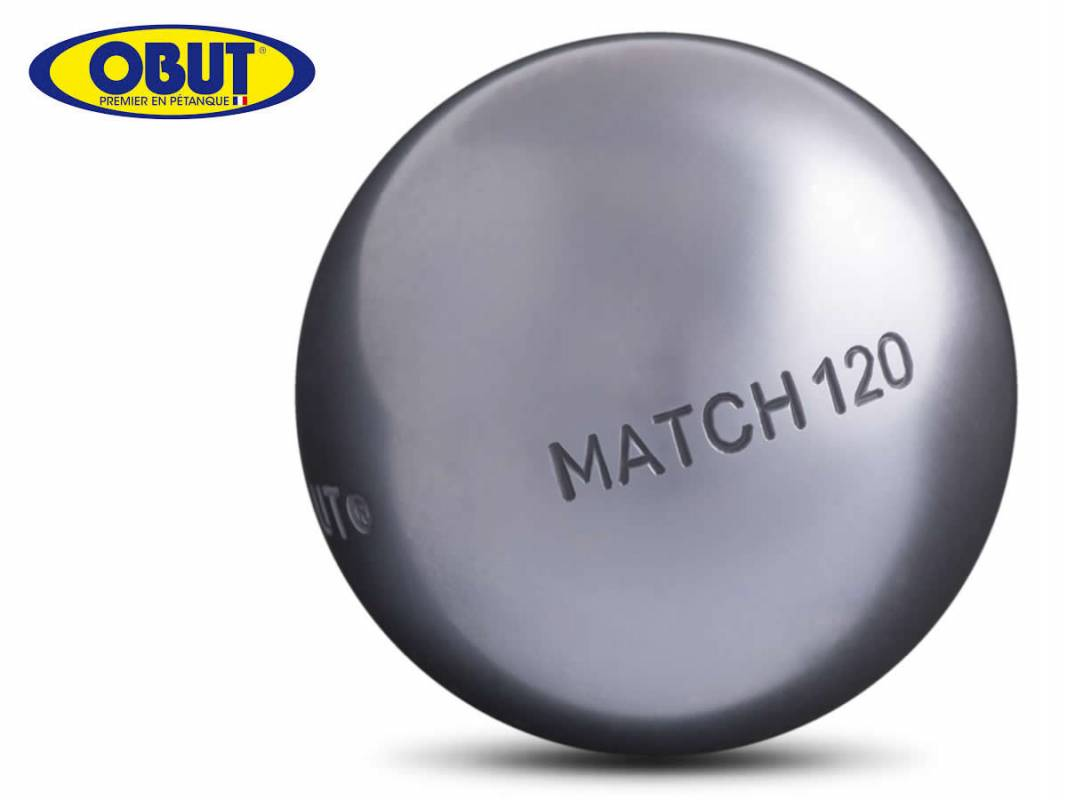 boules de p tanque obut match 120 tr comp tition pour tireur milieu diam tre 76mm poids 700gr. Black Bedroom Furniture Sets. Home Design Ideas
